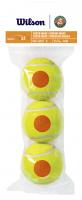 Juniorskie piłki tenisowe Wilson Roland Garros Orange 3B