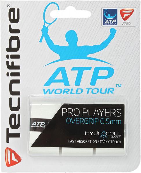Owijki tenisowe Tecnifibre Pro Player's (3 szt.) - white