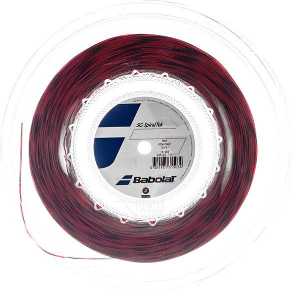 Naciąg tenisowy Babolat Spiraltek (200 m) - red