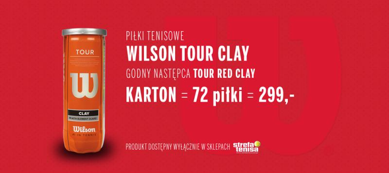 Wilson Tour Clay