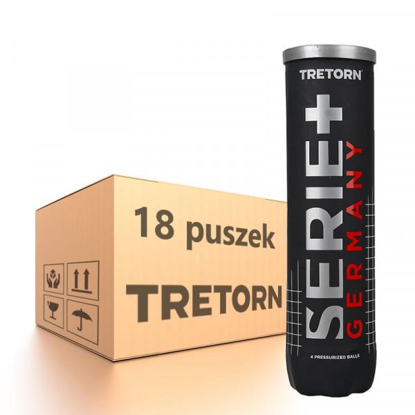 Karton piłek tenisowych Tretorn Serie+ Germany - 18 x 4 szt.