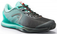Teniso batai vyrams Head Sprint Pro 3.0 Men Clay - black/teal