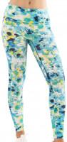 Damskie spodnie tenisowe Lucky in Love Peace Out Legging Women - opal/print