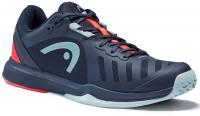 Teniso batai vyrams Head Sprint Team 3.0 2021 Men - dark blue/neon red