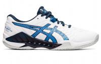 Męskie buty do squasha Asics Blast FF 2 - white/reborn blue