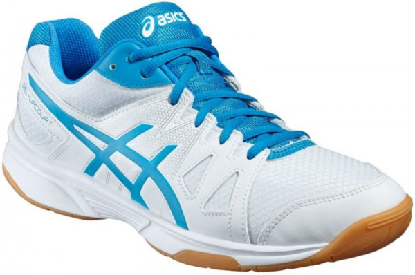 Asics Gel-UpCourt - white/blue jewel/white