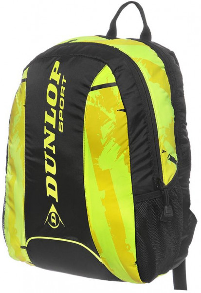 Teniski ruksak Dunlop Revolution NT Backpack - neon yellow/black