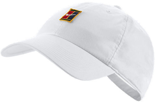 Tenisa cepure Nike H86 Court Logo Cap - white
