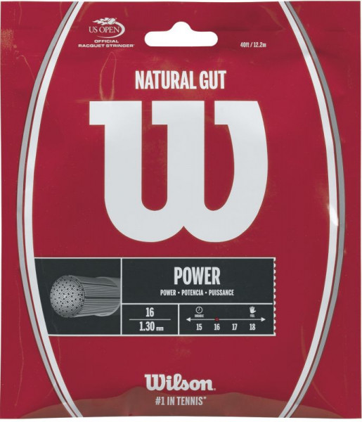 Tennis String Wilson Natural Gut (12,2 m)