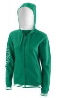 Męska bluza tenisowa Wilson W Team II FZ Hoody - team green