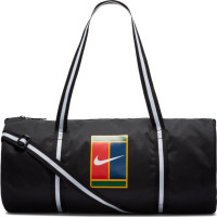 Teniso krepšys Nike Court Heritage Tennis Duffel Bag - black/white/white