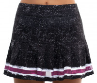 Damska spódniczka tenisowa Lucky in Love City Graffiti Long Roller Pleated Skirt Women - black