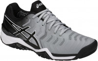 Męskie buty tenisowe Asics Gel-Resolution 7 - mid grey/black/white