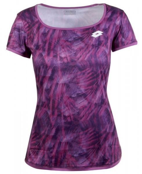Koszulka dziewczęca Lotto Top Ten G Tee PRT PL - purple willow