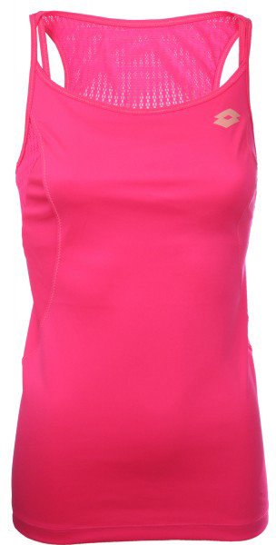 Tenisa tops sievietēm Lotto Tank Nixia II - pink fluo pop