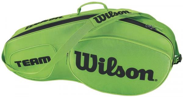 Wilson Team III 3 Pack Bag - green/black