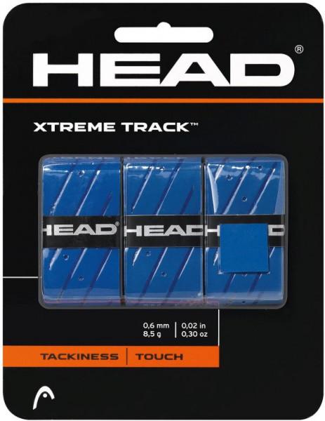 Tenisa overgripu Head Xtremetrack blue 3P