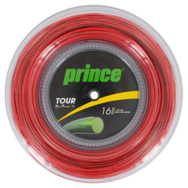 Teniska žica Prince Tour Xtra Power 17 (200 m) - red
