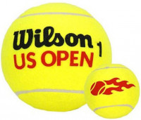 Kamuoliukas Mini Gigant Wilson US Open Jumbo Ball - yellow