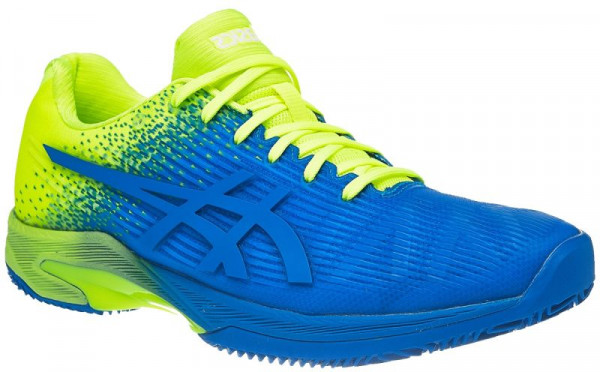 Męskie buty tenisowe Asics Solution Speed FF Clay L.E. - imperial/flash yellow