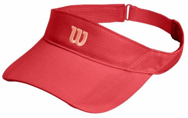 Daszek tenisowy Wilson Rush Knit Visor Ultralight cayenne