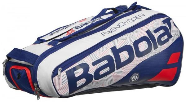Babolat Pure Roland Garros x6 - white/blue/red