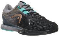 Sieviešu tenisa apavi Head Sprint Pro 3.0 SF Women - black/light blue
