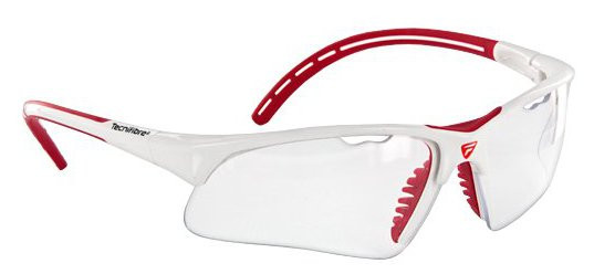 Squash protection glasses Tecnifibre Protection Glasses - white