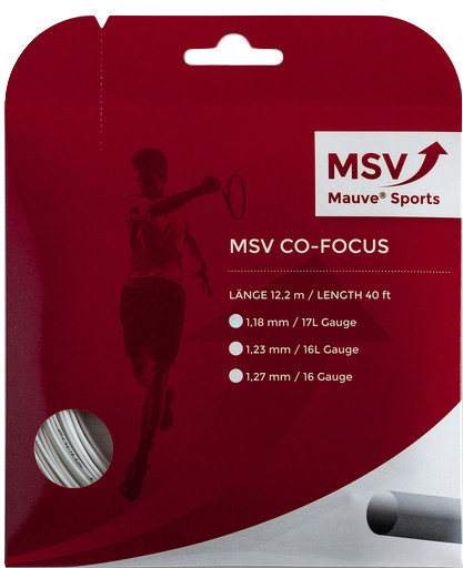 Tenisa stīgas MSV Co. Focus (12 m) - white