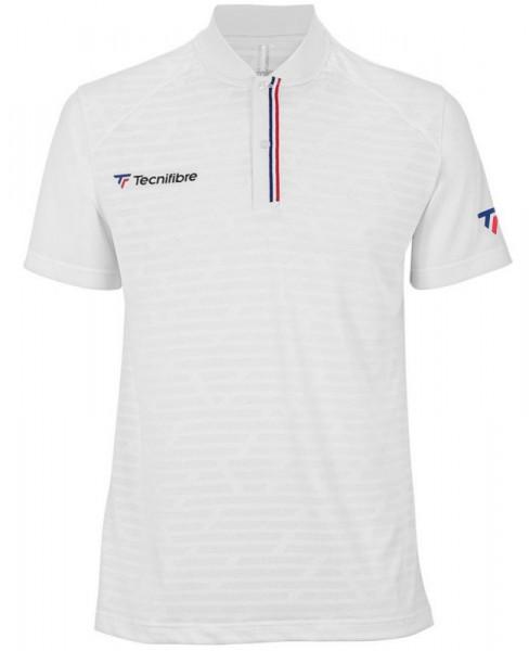 Męskie polo tenisowe Tecnifibre Polo F3 - white