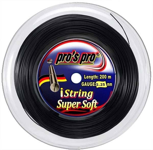 Pro's Pro iString Super Soft (200 m) - black