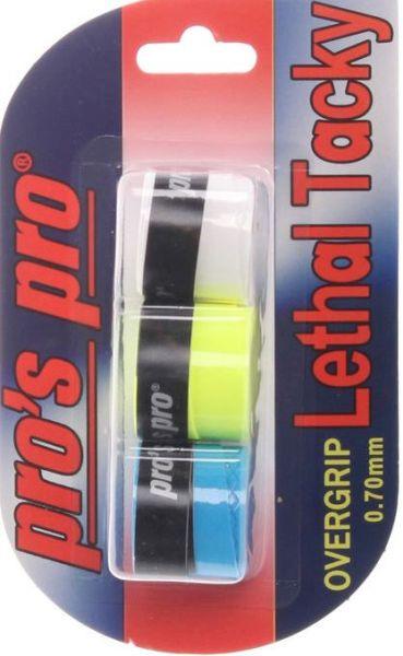 Viršutinės koto apvijos Pro's Pro Lethal Tacky (3 vnt.) - color