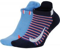 Skarpety tenisowe Nike Multiplier Max No Show 2PR - 2 pary/multicolor
