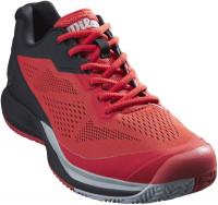 Męskie buty tenisowe Wilson Rush Pro 3.5 - infarared/black/pearl blue