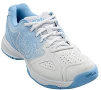 Damskie buty tenisowe Wilson Kaos Stroke W - white/cashmere blue/placid blue