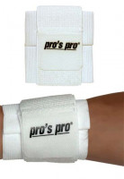 Opaska na nadgarstek Pro's Pro Wrist  - white