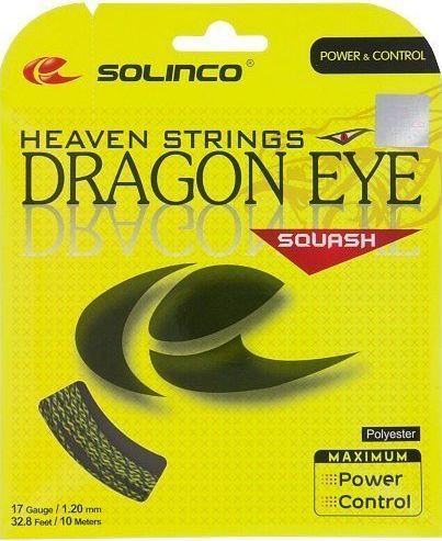 Skvoša stīgas Solinco Dragon Eye (10 m) - yellow/black