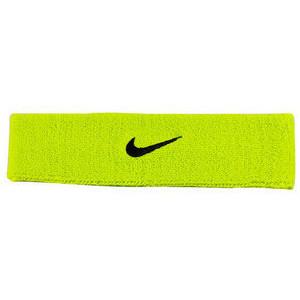 Frotka Tenisowa na głowę Nike Swoosh Headband - atomic green/black