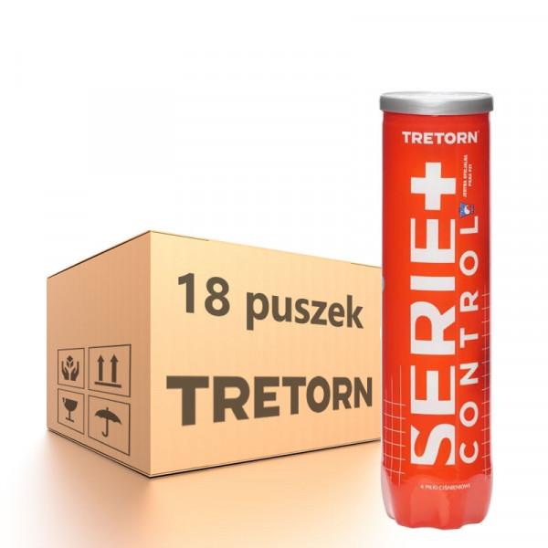 Teniso kamuoliukų dėžė Tretorn Serie+ Control (red can) - 18 x 4B
