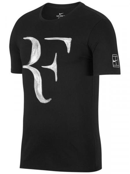 Nike RF Tee - black/white
