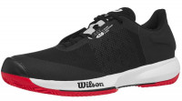 Męskie buty tenisowe Wilson Kaos Swift Clay - black/pear blue/wilson red