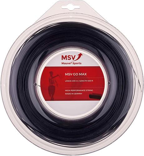 Teniska žica MSV Go Max (200 m) - black