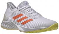 Teniso batai moterims Adidas Adizero Club Women - cloud white/amber tint/ sky tint