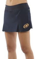 Ženska teniska suknja Bullpadel Yapa Skirt Woman - oceano profundo/naranja fluor