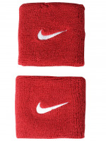 Nike Swoosh Wristbands - varsity red/white