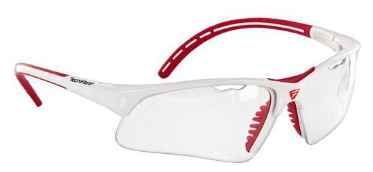 Squash protection glasses Tecnifibre Protection Glasses - white