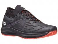 Męskie buty tenisowe Wilson Kaos 3.0 SFT - black/white/fiery coral