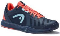 Damskie buty tenisowe Head Sprint Team 3.0 2021 Women - dressblue/coral