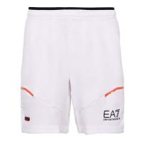 Męskie spodenki tenisowe EA7 Man Woven Shorts - white
