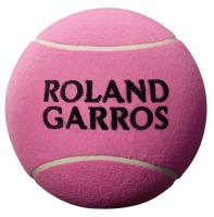 Piłka na autografy Wilson Roland Garros Jumbo Ball - pink